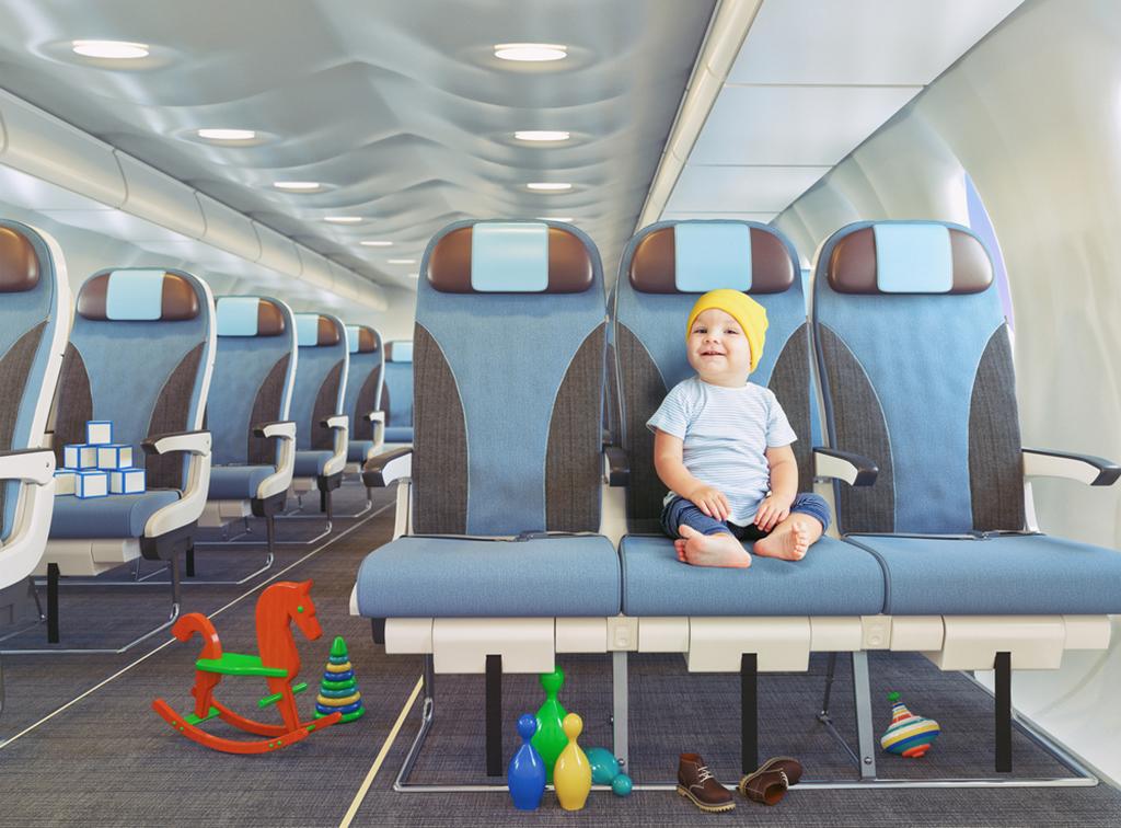перелёт на самолёте с ребёнком