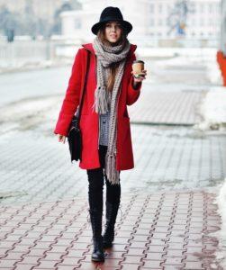модные женские шарфы