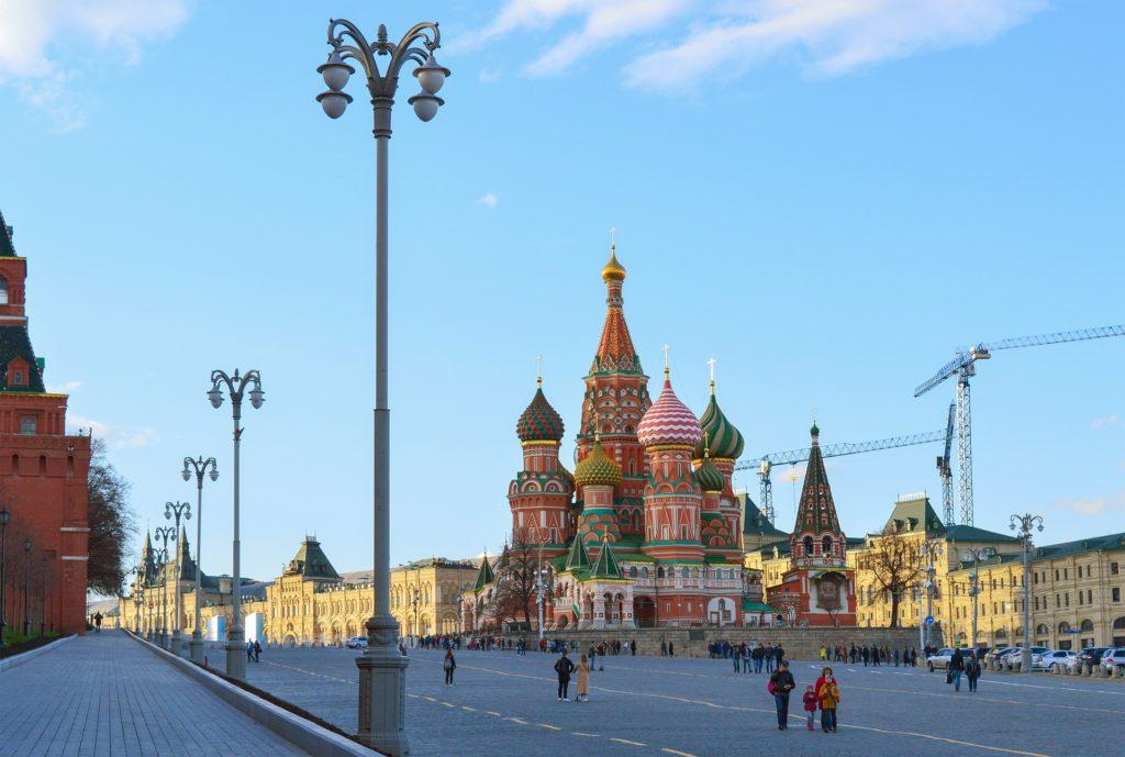 Сентябрь в Москве