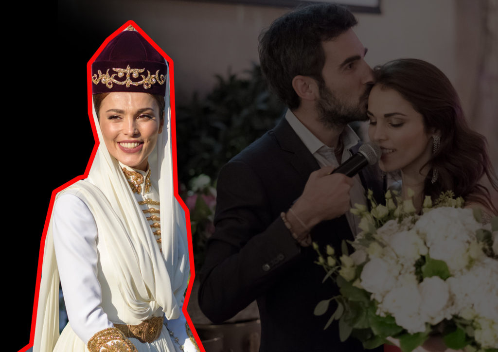 Сати Казанова вышла замуж за Стефано