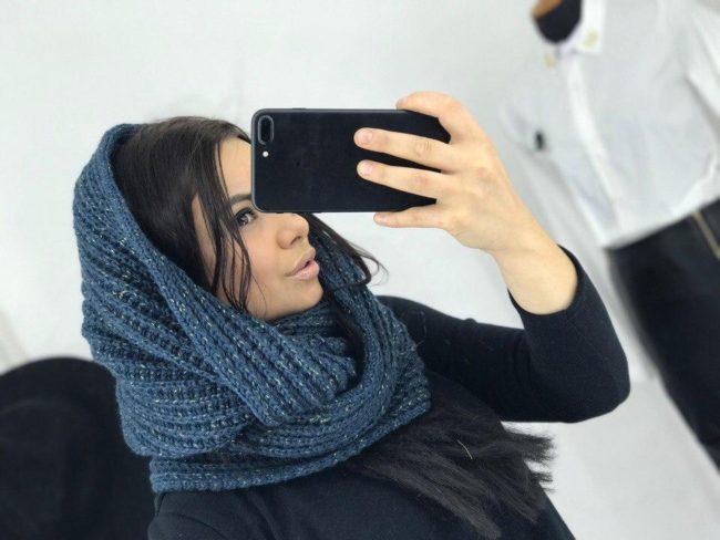 Когда носить шарф-хомут