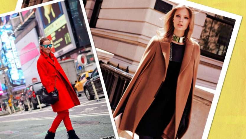 женское модное пальто на весну 2018