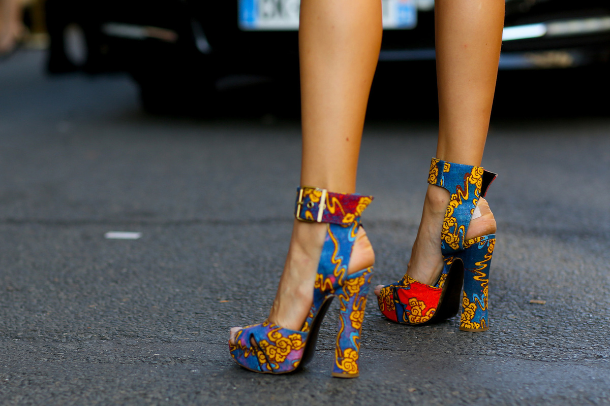 Обувь, модная этой весной