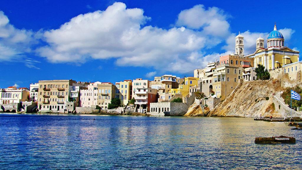 на море в Грецию