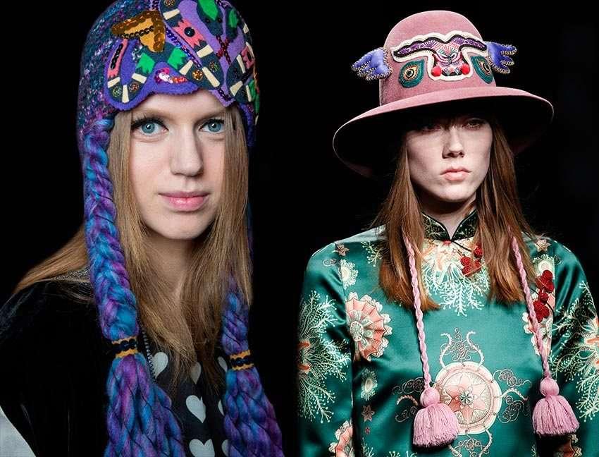 Модные головные уборы в 2018 году