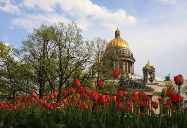 Прогулки по Санкт-Петербургу на майские праздники 2018