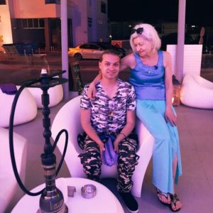 Гоген Солнцев и 70 летняя Екатерина