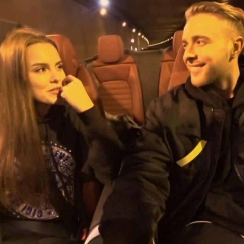 Егор Крид и Даша Клюкина после проекта