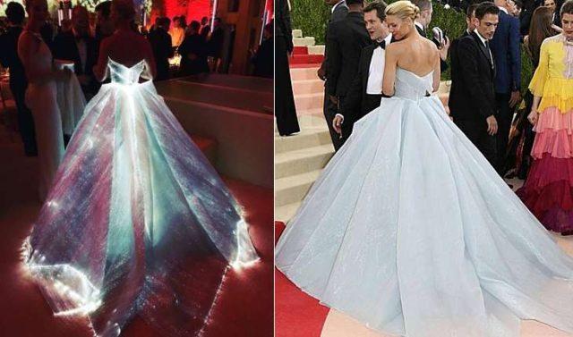 Платье с подсветкой