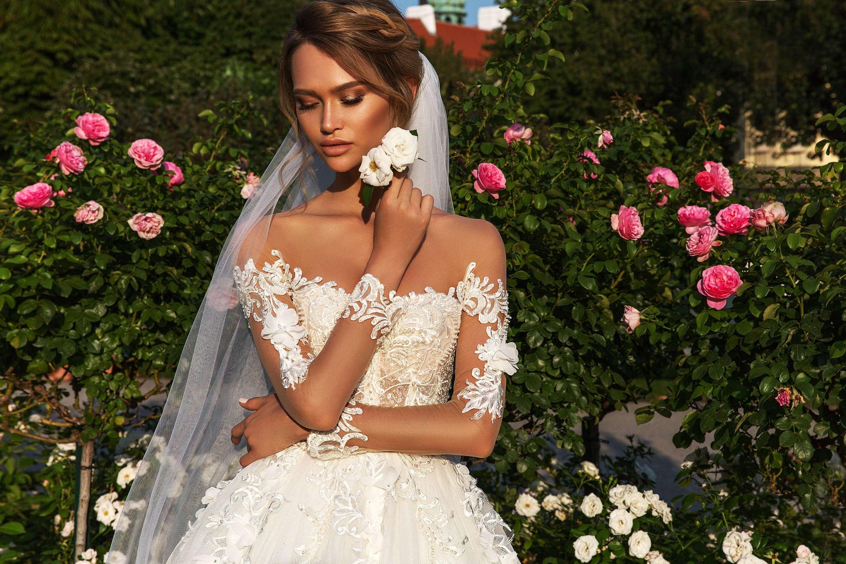 Модное свадебное платье в 2018 году