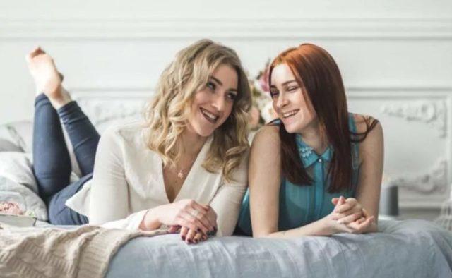елизавета ковалёва с сестрой